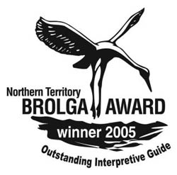 Brolga Award - Outstanding Interpretive Guide